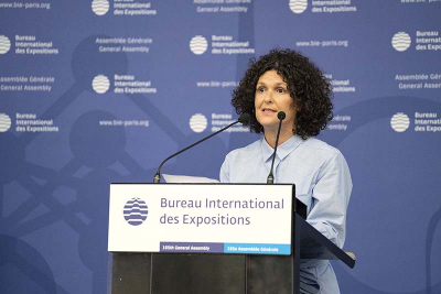 Gabriela Ricardes of Argentina's Ministry of the Federal System of Media and Public Content