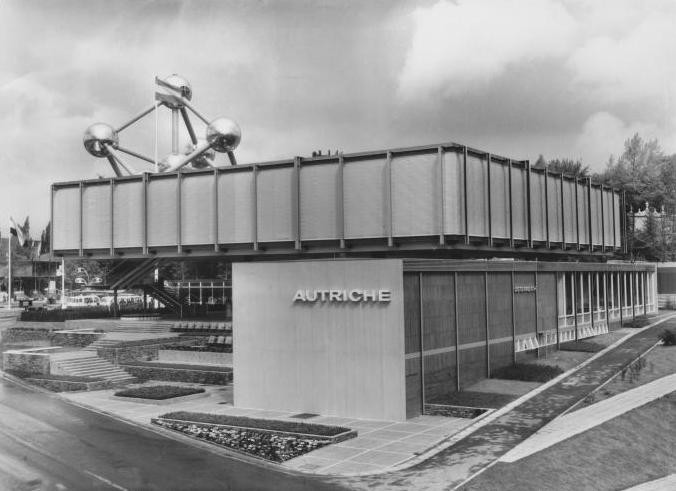 Austria'a Pavilion at Expo 1958 Brussels