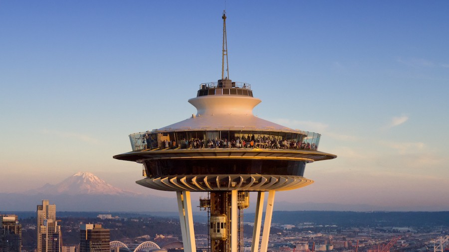 The Space Needle. Courtesy of Chad Copeland