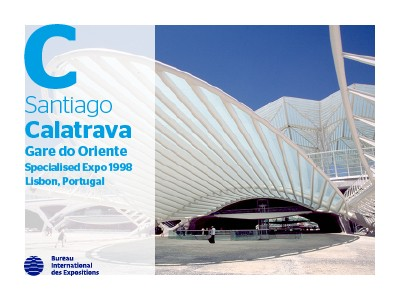 A to Z of Expo Architects: Santiago Calatrava
