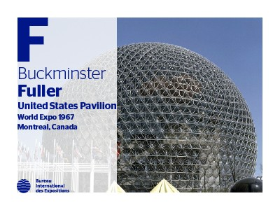 A to Z of Expo Architects: Buckminster Fuller