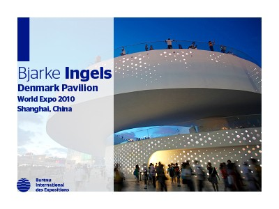 A to Z of Expo Architects: Bjarke Ingels