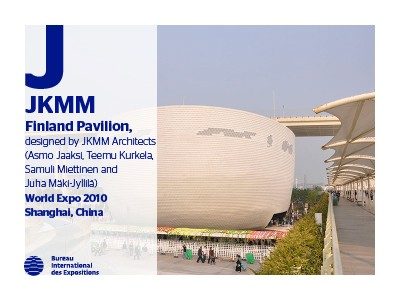 A to Z of Expo Architects: JKMM