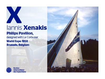 A to Z of Expo Architects: Iannis Xenakis
