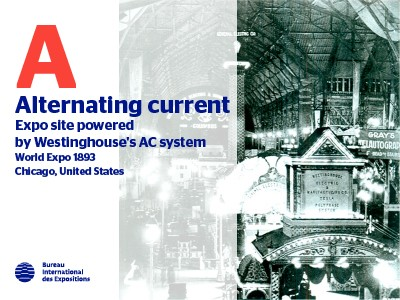 A to Z of Innovations at Expos: Alternating current