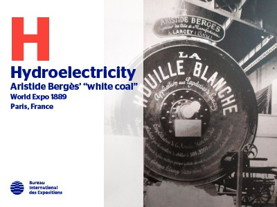 A to Z of Innovations at Expos: Hydroelectricity