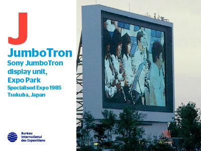A to Z of Innovations at Expos: JumboTron