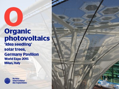 A to Z of Innovations at Expos: Organic photovoltaics