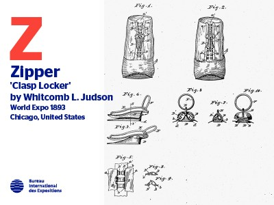 A to Z of Innovations at Expos: Zipper