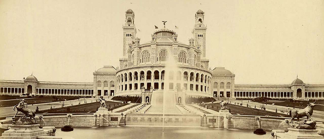 Expo Paris 1878 – Le Trocadéro