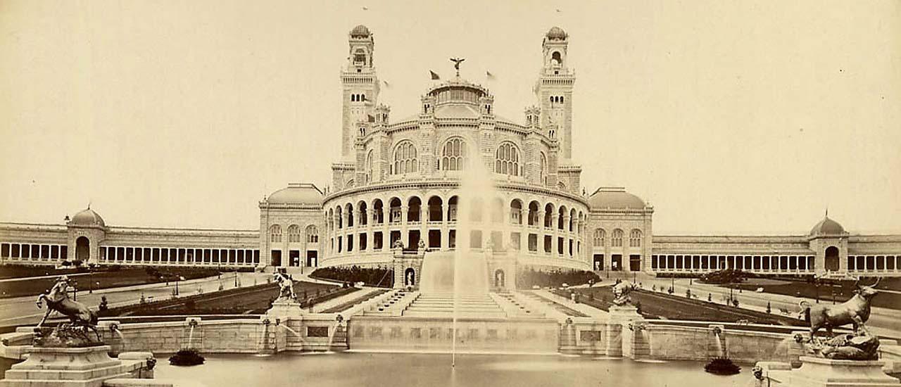 Expo Paris 1878 – Le Trocadéro