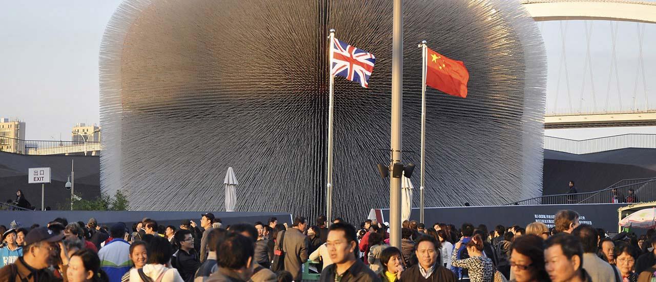 Expo Shanghai 2010 – Pavillon du Royaume-Uni