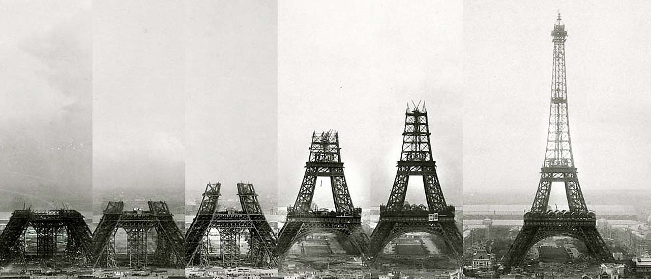Expo Paris 1889 – The Eiffel Tower
